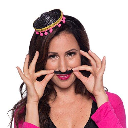 Disfraz / fiesta de carnaval – Sombrero mexicano, mini sombrero – unisex