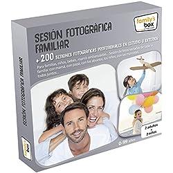 """COFRE DE EXPERIENCIAS """"SESIÓN FOTOGRÁFICA FAMILIAR"""" - Más de 200 fotográficas en estudio o exterior"""