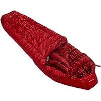 VAUDE Unisex Schlafsack Kunstfaser Sioux 1000 SYN, dark indian red, 220 x 80 x 15 cm, 121246520020