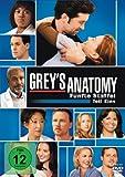 Grey's Anatomy: Die jungen Ärzte - Fünfte Staffel, Teil Eins [3 DVDs]