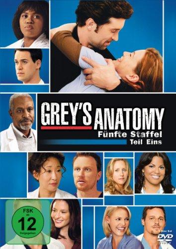 Grey's Anatomy: Die jungen Ärzte - Fünfte Staffel, Teil Eins [3 DVDs] (Arzt, Serie, Teil Eins)