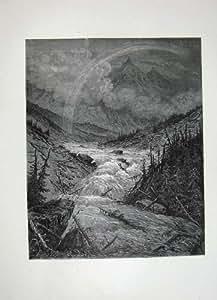 Inondation 1870 d'Atala Chateaubriand de Beaux-Arts de Galerie de Dore