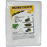 Clear Tarpaulin Reinforced 4M X 5M Rain Sheet Tarp Sheeting Cover 13ft x 16ft