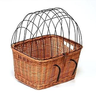 Prestige Wicker Pet Carrier Bicycle Basket 51Q5at5ygJL