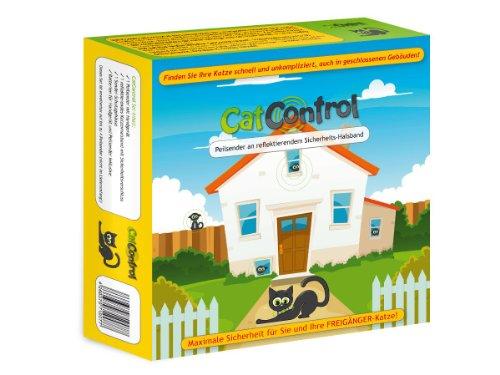 Cat Control - Katzenhalsband mit Peilsender - Set für 1 Katze