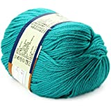 Peacock Green : Baby Yarn Handcraft Worsted 50G Sweater Wool Knitted Soft Knitting Warm