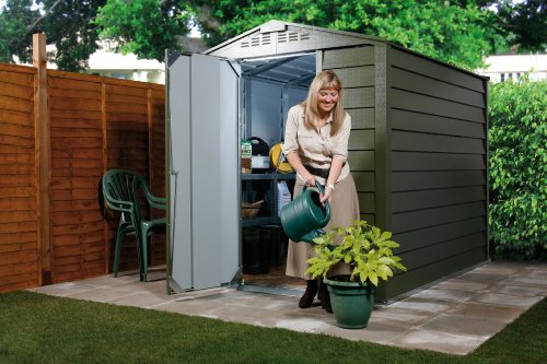 Shed/Garage/Workshop/Metal Storage – Apex Titan 630 (approx. 6′ x 3′)