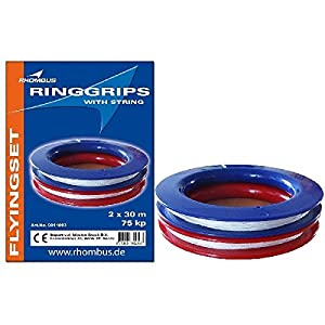 Rhombus 0911003 Accesorio para Kite - Accesorios para Kite (Kite String Spool, Azul, Rojo, 10 año(s), 99 año(s), 30 m, China)