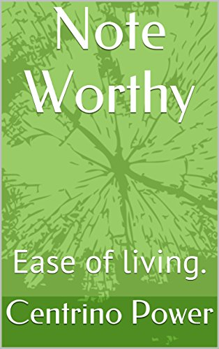 note-worthy-ease-of-living-the-way-book-1-english-edition