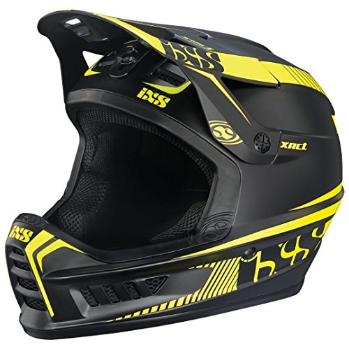 IXS Xact Fullface Helmet black/lime Kopfumfang 60-62 cm 2017 Downhill Helme
