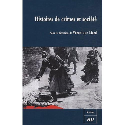 Histoires de crimes et société