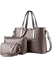 SSMK  Leather Tote Bag, Damen Tote-Tasche