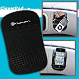 CleverPad - The Awesome AntiSlip Mat by Clevermatter™; Non Slip Sticky Mat; Nano Pad; Black. (1)
