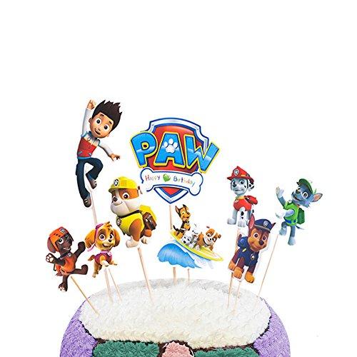 und Patrol Kuchen Topper Für Geburtstag Party Event Decor ()