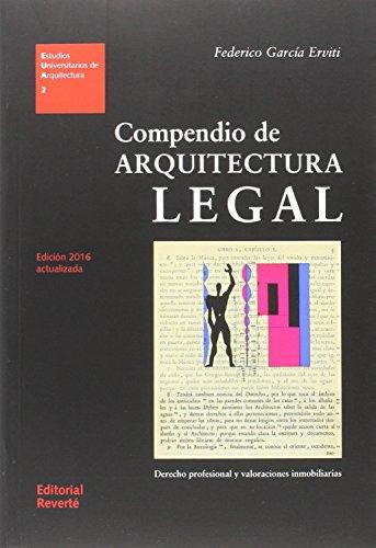Compendio de arquitectura legal. Edició...