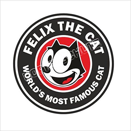 522 < Felix Cat > adesivi STICKER USW. - Cat Rod
