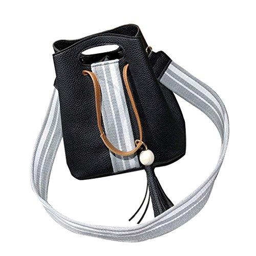 4Pcs Frauen-Mädchen-Barrel Magnet-Druckknopf Quasten Dekoration Umhängetasche Handtaschen Umhängetasche Composit Taschen Republe (Barrel Composite)
