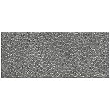 Auhagen 52.227,0 - paneles decorativos de piedra natural, 10 x 20 cm superficie de la estructura, gris