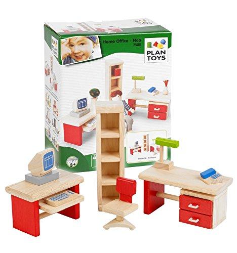 Plan Toys 39730510 - Arbeitszimmer / Büro