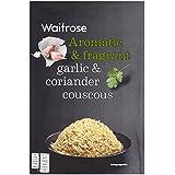 El ajo y coriandro cuscús Waitrose 110g