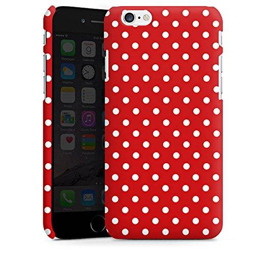 Apple iPhone 5s Housse Étui Protection Coque Points Rockabilly Robe Cas Premium mat