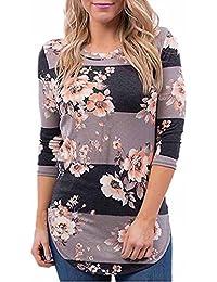 blusas de mujer de moda 2017 manga larga Switchali ropa de mujer en oferta casual camisetas