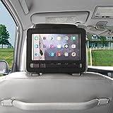 Tvird Support d'appui-tête avec fonction pivotante Support d'appui-tête de voiture pour lecteur DVD portable, tablette