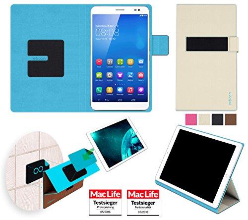 reboon Hülle für Huawei MediaPad X1 7.0 Tasche Cover Case Bumper | in Beige | Testsieger
