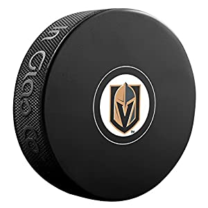 Inglasco NHL Vegas Knight 510 an002767 Souvenir Puck
