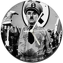 MasTazas El Gran Dictador The Great Dictator Charles Chaplin Reloj de Pared Wall Clock 20cm