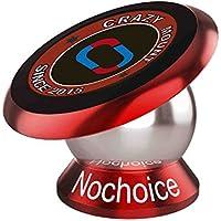 Nochoice® Pazzo magnetico per montaggio auto Phone Holder 42 millimetri senior(Rosso)