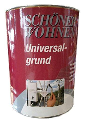 Schöner Wohnen Alkydharz Universal-grundierung 7106 grau 2,5 Liter