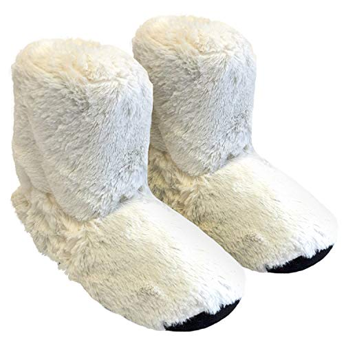 Thermo Sox pantofole riscaldabili ciabatte con semi per microonde e ... 17ad03ae23a