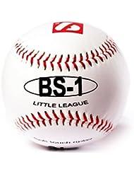 Barnett BS-1 Baseball, Größe 9 Zoll, Weiß, 2 Stück