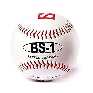 BS-1 barnett, palla da baseball principianti, 9'', bianco, 2 pz