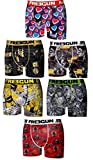 Freegun Lot 6 Boxers Enfant Microfibre (8-10 Ans, Serie 1)