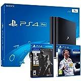 PS4 PRO 1TB Playstation 4 - PACK 2 Juegos 4K - FIFA 18 + The Last Of Us: Remastered