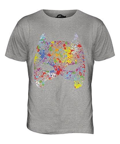 CandyMix Maske Herren T Shirt Grau Meliert