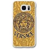 Samsung Galaxy S7 Edge Cell Phone Case White Versace Brand Logo Custom Phone Cover QWE2528459