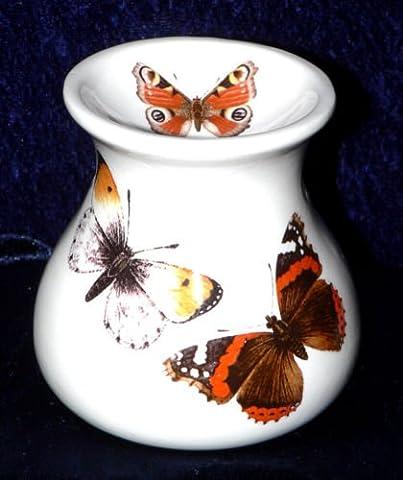 Butterfly wax melt burner Oil burner. Butterfly pattern bone china oil burner