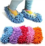 Generic Slippers with Mop Effect, Clean Room, Bathroom, Kitchen, Office (A)