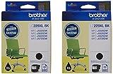 Brother LC229XL hohe Kapazität Ink Cartridge, Twin Pack, schwarz