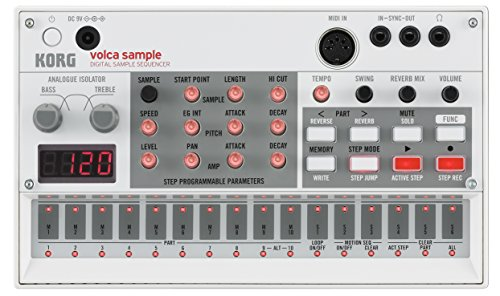 Korg VOLCA SAMPL Digital Sample Sequencer - Maschinen-service-handbuch