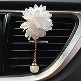 SamLike Car Loving Gift Air Outlet, Diffuseur de parfum Fleur Camélia.