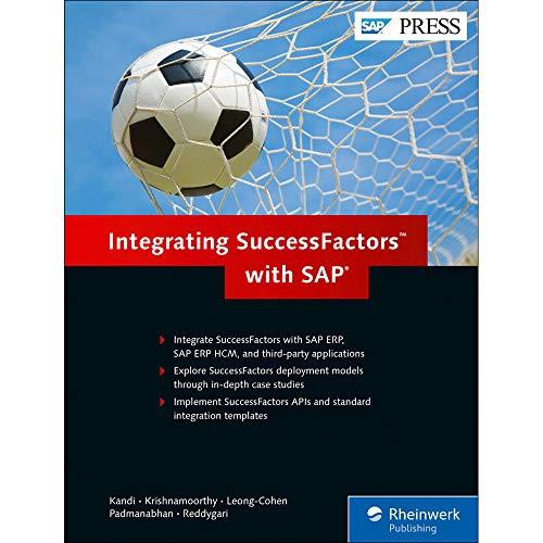 Integrating SuccessFactors with SAP (SAP PRESS: englisch)