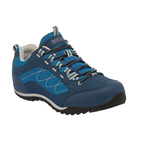 Regatta Great Outdoors - Eastmoor - Scarpe sportive - Donna Zinco/Blu Petrol