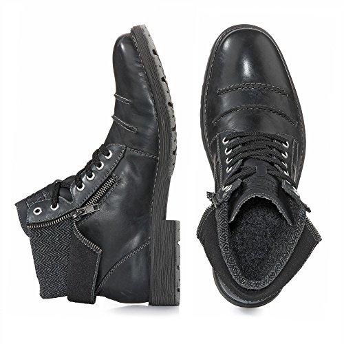 Rieker 33312, Bottes Classiques Homme Noir