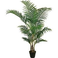 Best Artificial 5pies 150cm Areca palmera Tropical conservatorio oficina interior exterior jardín planta
