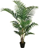 Best Artificial 5 ft 150 cm Areca Palme tropischen Wintergarten Büro Indoor Outdoor Garten Torrontes