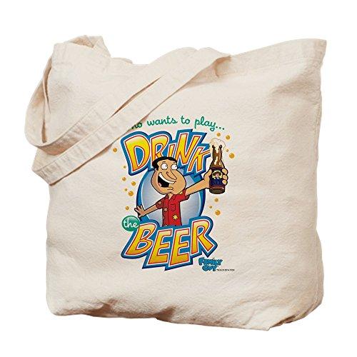 CafePress-Family Guy Drink der Bier-Leinwand Natur Tasche, Tuch Einkaufstasche Tote S khaki Family Guy Bier